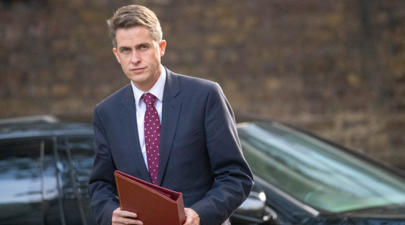Gavin Williamson sparks controversy after speaking out in support of One Britain One Nation campaign song